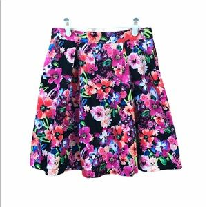 89th & Madison Floral Skirt